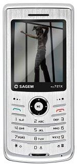 The photo gallery of Sagem my721X