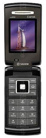The photo gallery of Sagem my850 Carat
