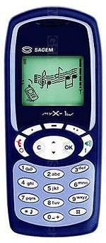 The photo gallery of Sagem myX-1w