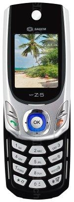 The photo gallery of Sagem myZ-5