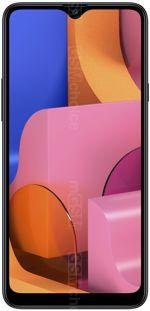 The photo gallery of Samsung Galaxy A20s