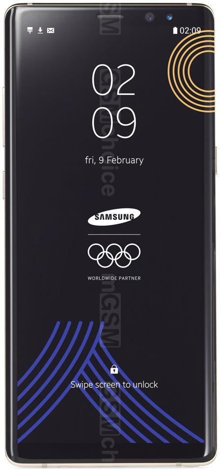 Samsung Galaxy Note8 Olympic Edition