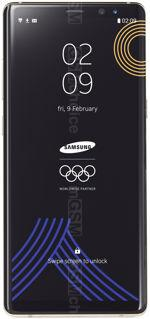 The photo gallery of Samsung Galaxy Note8 Olympic Edition