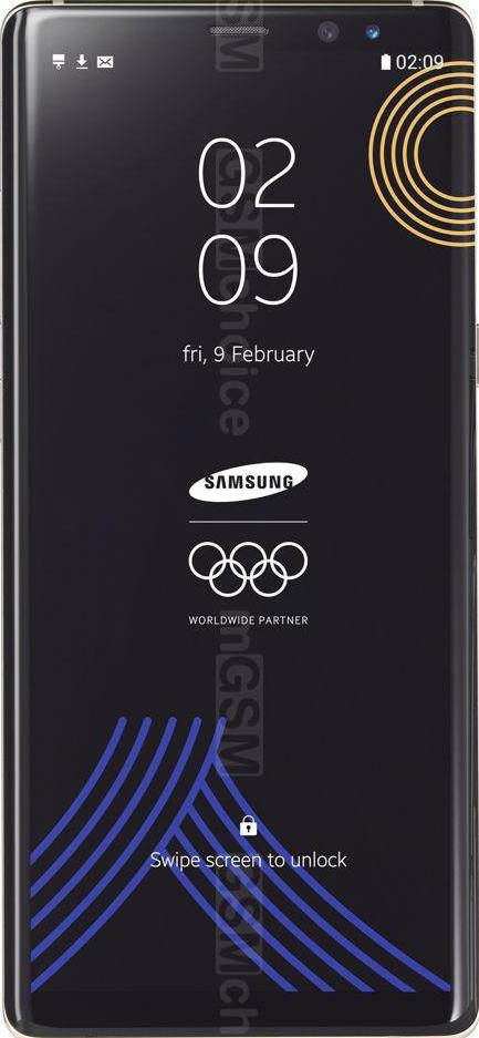 Samsung Galaxy Note8 Olympic Edition
