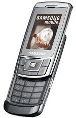 The photo gallery of Samsung SGH-D900i