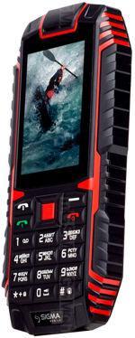 Galeria de fotos do telemóvel Sigma X-Treme DT68