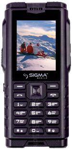 Galeria de fotos do telemóvel Sigma X-Treme DZ68