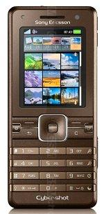 fotogalerij Sony Ericsson K770i