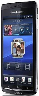 The photo gallery of Sony Ericsson Xperia Arc