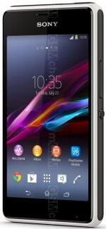 Galeria de fotos do telemóvel Sony Xperia E1