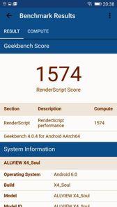 Benchmark-Ergebnisse