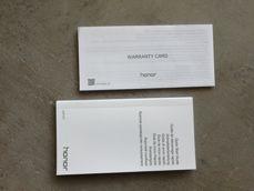 Caja de embalaje y accesorios