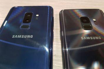 Samsung Galaxy S9+ y Galaxy S9 juntos