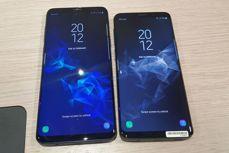 Samsung Galaxy S9+ i Galaxy S9 un momento después del estreno en la MWC