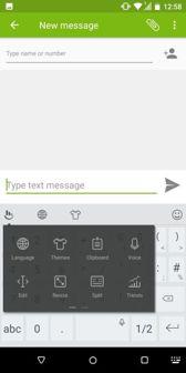 Menú del teléfono y del teclado