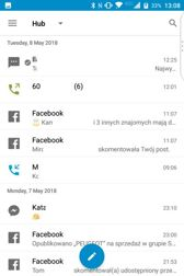 Notifications, shortcuts, BB Hub