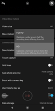 Camera app | Photos and video settings
