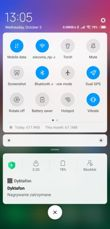 Lock screen, desktop and its options, notifications, shortcuts, folder, last used apps, divided screen
