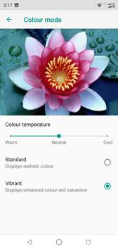 Interface personalization | Display settings