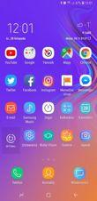 Lock screen, main desktop, tray, main screen settings
