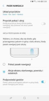 Shortcuts, settings options