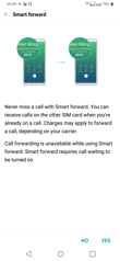 Dual SIM settings | Voice calls