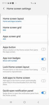 Main desktop and its options, shortcuts panel