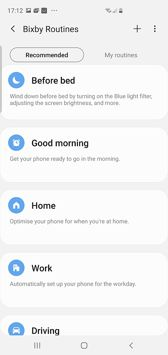 Bixby features