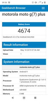 Geekbench results | PC Mark results | Lifespan with the display on