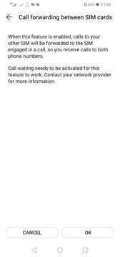 Dual SIM usage | Voice calls