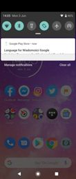 Interface of Motorola One Vision