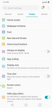 Adjusting image parameters