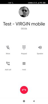 Settings | Mobile networks | Voice calls